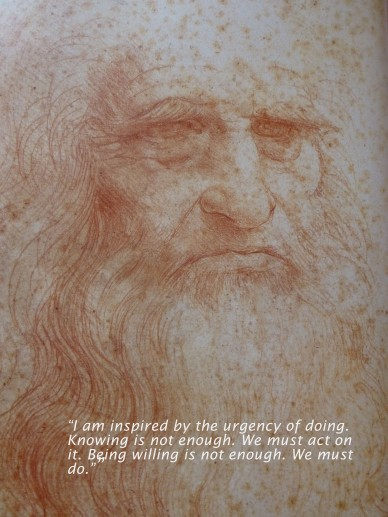 leonardo da vinci from zollner with text
